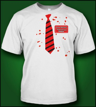 SHAUN OF THE DEAD TIE ZOMBIE