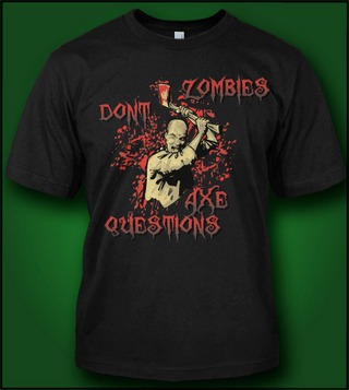 ZOMBIES DON'T AXE QUESTIONS